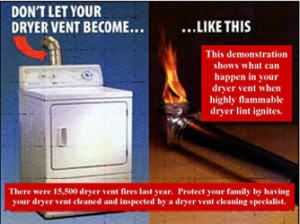 Superior Chimney dryer vent fires