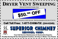 Dryer Vent Sweeping Coupon