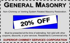 General Masonry Repair Coupon