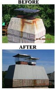 chimney top repairs