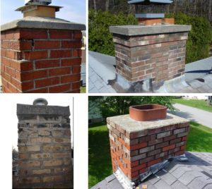 deterioration of chimney mortar & chimney cap