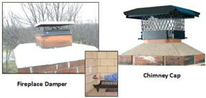 Difference Between A Chimney Cap And A Fireplace Damper In
