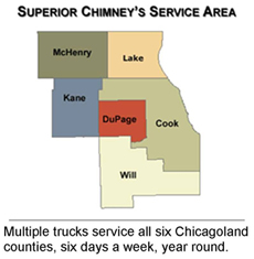 Superior Chimney Service Area